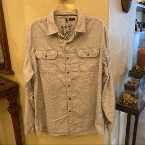KUHL Men Button Long Sleeve Top Size XL